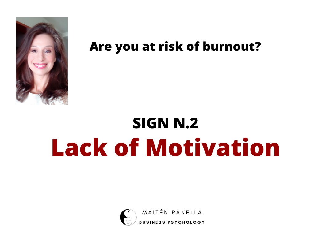 burnout risk